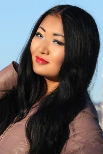 Russian girl Vladislava,26 years old with black eyes and black hair.