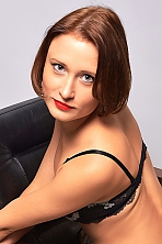 Ukrainian girl Zhanna,30 years old with  eyes and  hair.