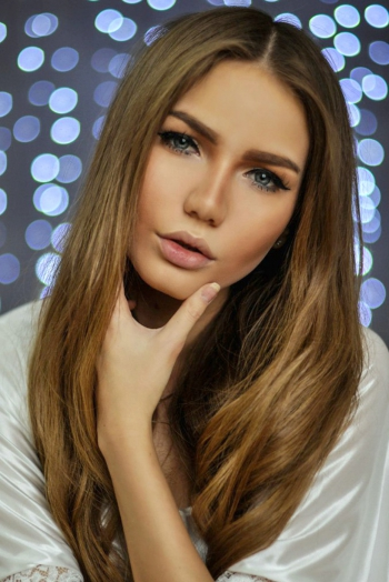 Ukrainian girl Karina,26 years old with blue eyes and blonde hair.
