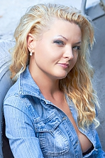 Ukrainian girl Victoria,36 years old with blue eyes and blonde hair.
