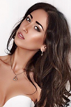 Ukrainian girl Maryanna,22 years old with brown eyes and dark brown hair.