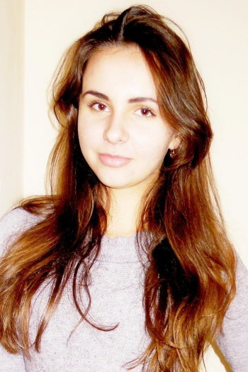 girl Ilona, years old with  eyes and  hair.