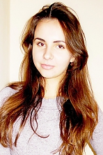 Ukrainian girl Ilona,20 years old with hazel eyes and dark brown hair.
