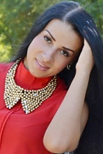Ukrainian girl Anastasia,24 years old with brown eyes and black hair.