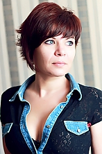 Russian girl Natalie,37 years old with grey eyes and dark brown hair.