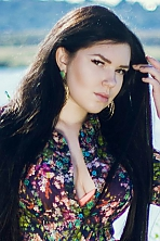 Ukrainian girl Victoria ,26 years old with brown eyes and dark brown hair.