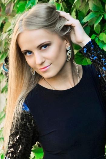 Ukrainian girl Sveta,26 years old with blue eyes and blonde hair.