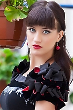 Ukrainian girl Lera ,26 years old with blue eyes and light brown hair.