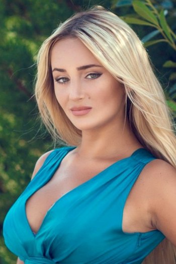 Ukrainian girl Kristina,26 years old with green eyes and blonde hair.