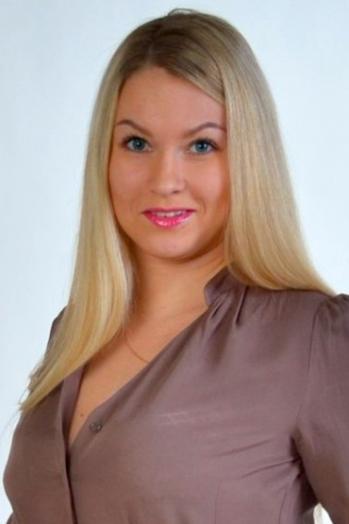 Ukrainian girl Anastasiya,27 years old with blue eyes and blonde hair.