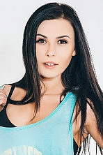 Ukrainian girl Maria ,23 years old with brown eyes and dark brown hair.