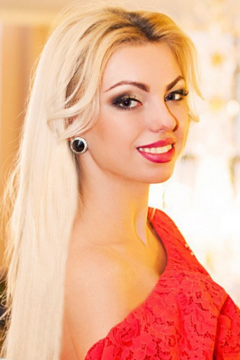 Ukrainian girl Karina,22 years old with green eyes and blonde hair.