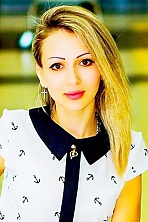 Ukrainian girl Albina,25 years old with hazel eyes and blonde hair.