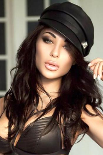 Ukrainian girl Karina,25 years old with  eyes and  hair.