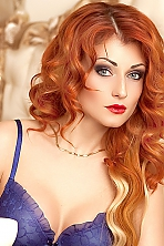 Ukrainian girl Irina,33 years old with  eyes and  hair.