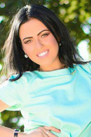 Ukrainian girl Vladislava,22 years old with brown eyes and black hair.