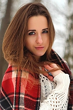 Ukrainian girl Juliya,22 years old with green eyes and light brown hair.