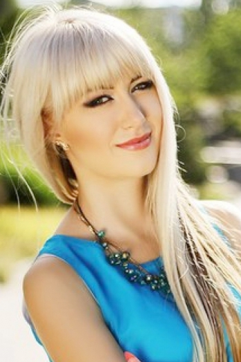 Ukrainian girl Angelica,23 years old with  eyes and  hair.