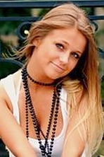 Ukrainian girl Emilia,26 years old with blue eyes and blonde hair.