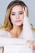 Ukrainian girl Alisa,25 years old with blue eyes and blonde hair.