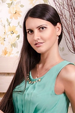 Ukrainian girl Helena,28 years old with brown eyes and dark brown hair.