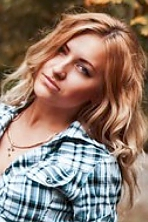 Ukrainian girl Anna,21 years old with green eyes and blonde hair.