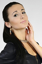 Ukrainian girl Yana,22 years old with black eyes and black hair.