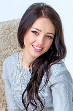 Ukrainian girl Natalia,34 years old with blue eyes and dark brown hair.