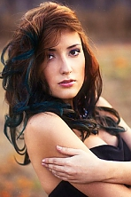 Russian girl Alina,24 years old with brown eyes and dark brown hair.