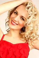 Ukrainian girl Marina ,27 years old with green eyes and blonde hair.