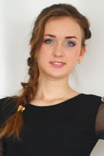 Ukrainian girl Yulya,20 years old with green eyes and light brown hair.