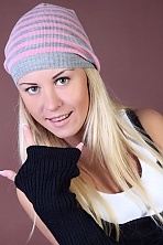Ukrainian girl Ilona,23 years old with blue eyes and blonde hair.