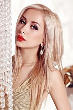 Russian girl Daria,24 years old with grey eyes and blonde hair.