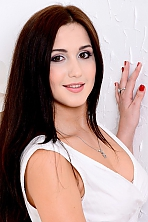Ukrainian girl Lina,21 years old with  eyes and  hair.