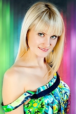 Ukrainian girl Nadezhda,32 years old with blue eyes and blonde hair.