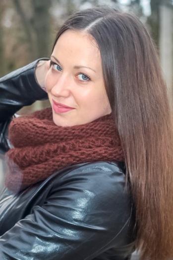 Ukrainian girl Ekaterina,24 years old with blue eyes and dark brown hair.