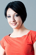 Ukrainian girl Ekaterina,27 years old with grey eyes and black hair.