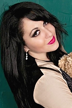 Ukrainian girl Natalia,32 years old with green eyes and black hair.
