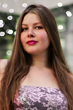 Ukrainian girl Darya,25 years old with  eyes and  hair.