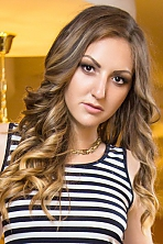 Ukrainian girl Anastasia,22 years old with  eyes and  hair.