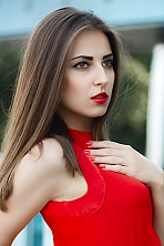 Ukrainian girl Karina,20 years old with brown eyes and dark brown hair.