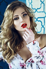 Ukrainian girl Valeriya,23 years old with green eyes and blonde hair.
