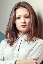 Ukrainian girl Evgeniya,21 years old with brown eyes and dark brown hair.