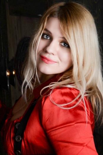 Ukrainian girl Svetlana,28 years old with green eyes and blonde hair.