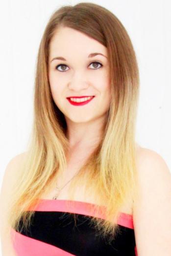 Ukrainian girl Vera,19 years old with hazel eyes and light brown hair.