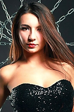 Ukrainian girl Alyona,21 years old with brown eyes and dark brown hair.