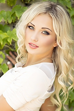Ukrainian girl Violetta,23 years old with blue eyes and blonde hair.