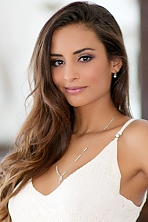 Mexicon girl Maria Belen,30 years old with hazel eyes and dark brown hair.