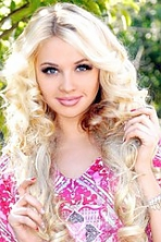 Ukrainian girl Anastasiya,19 years old with brown eyes and blonde hair.