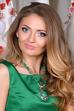 Ukrainian girl Natalia,28 years old with green eyes and light brown hair.